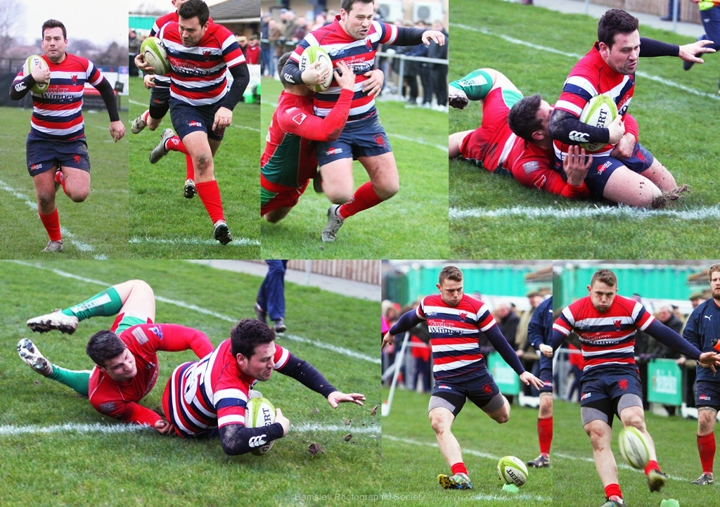 Last Minute Try and Conversion by Brian Crossland