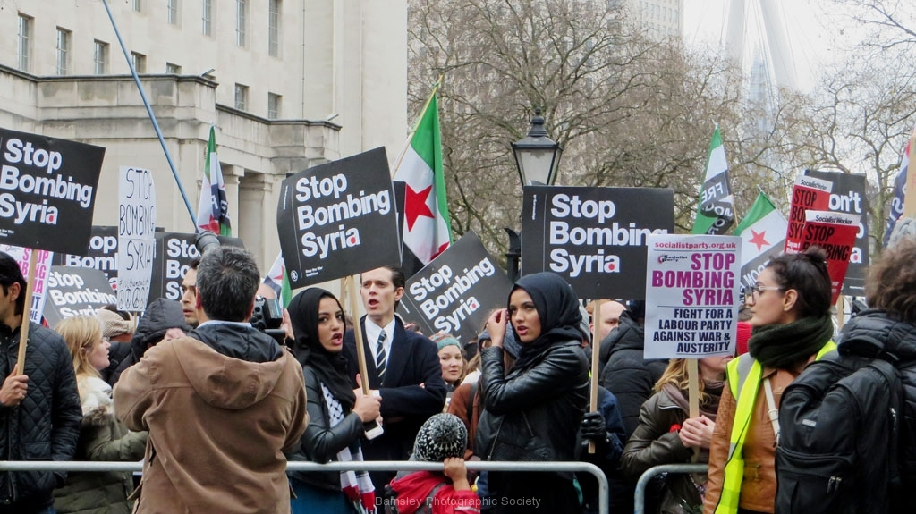 Stop Bombing Syria by Dave Speight