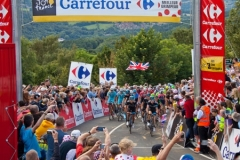 Le Tour Arrives by Tom Allison