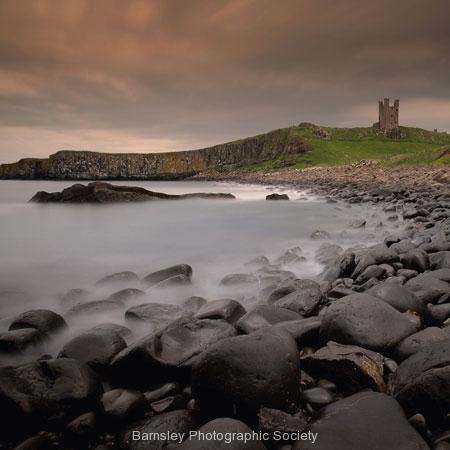 Twilight Dunstanburgh Castle by Jeff Moore