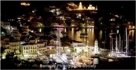 Symi Harbour by Jeff Moore