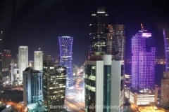 Night Time Doha by Willem Van Herp