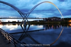 Up To No Good on Infinity Bridge by Brian Crossland