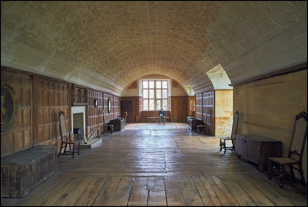 Long Gallery Chasterton Hall by Phil Holmes