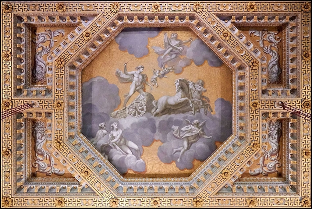 Ceiling Detail Chasterton Hall by Phil Holmes
