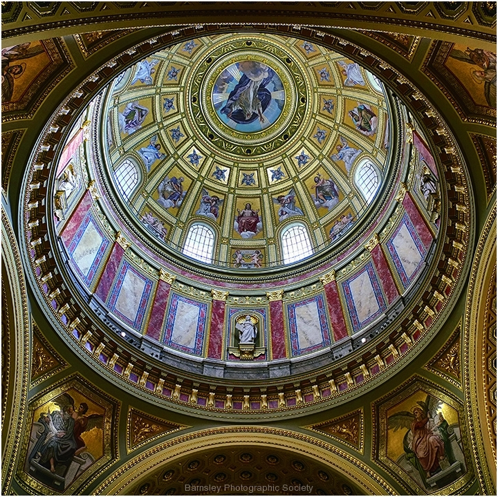 St Stephen's Basilica Budapest by Jeff Moore