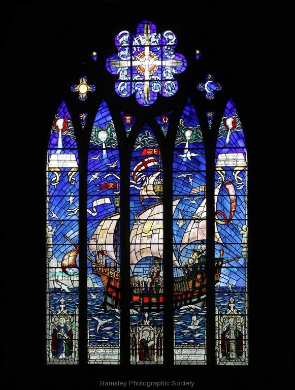 St Edward The Confessor Church West Window by Brian Crossland