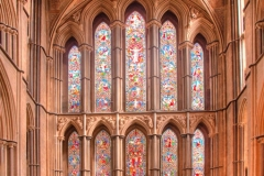East Window, Worcester Cathedral by Tom Allison