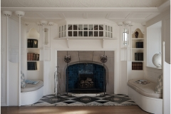 Fire Place Blackwell House by Phil Holmes