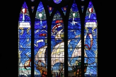 St Edward The Confessor Church West Window by Brian Crossland