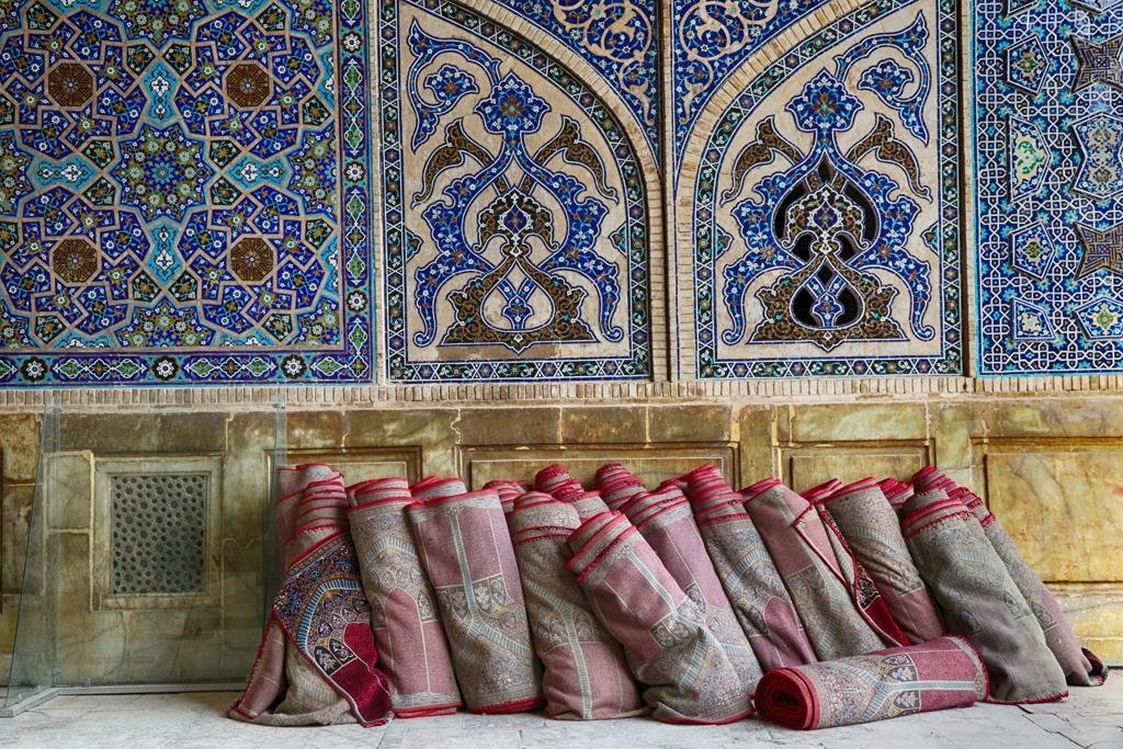 Carpets in Mosque by Willem Van Herp