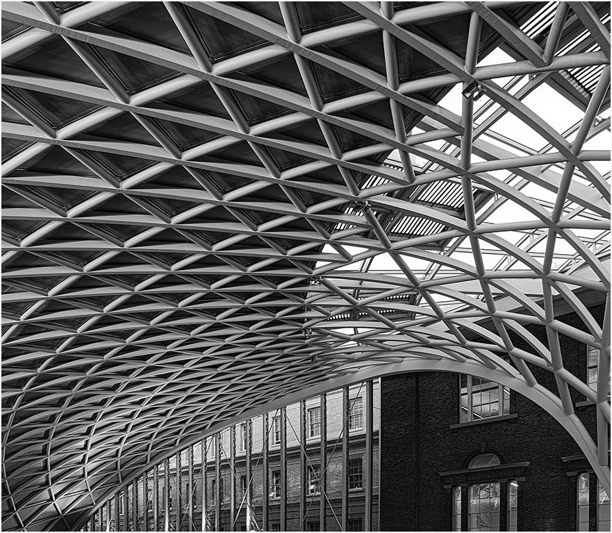 Kings Cross Roof Detail by Jeff Moore
