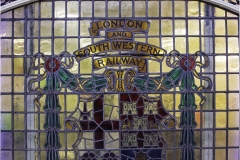 London and South Western Railway Office Door Detail by Jeff Moore