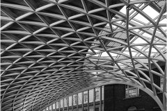 Kings Cross Roof Detail by Jeff Moore