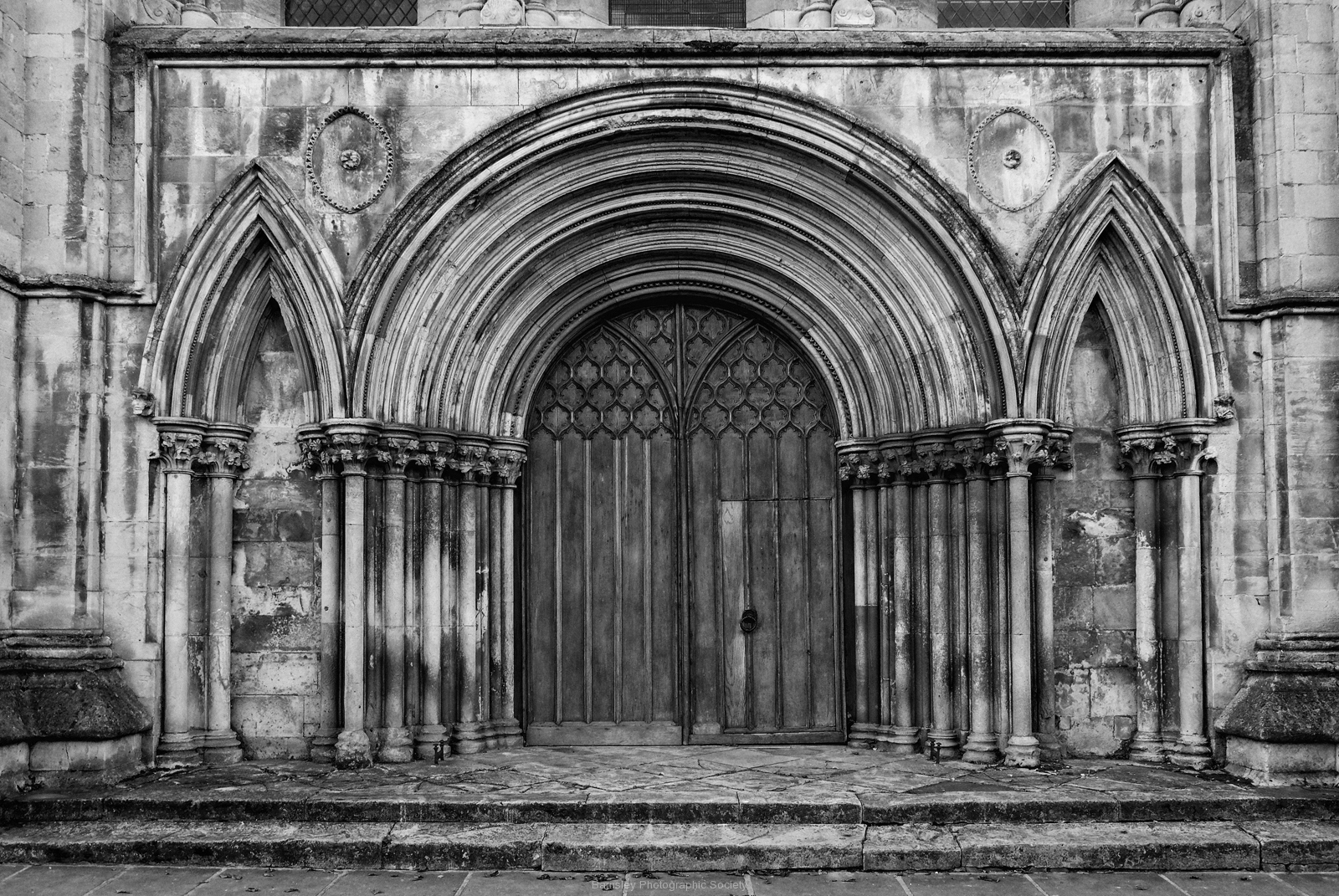 Beverley Minster North Entrance by Phil Edwards