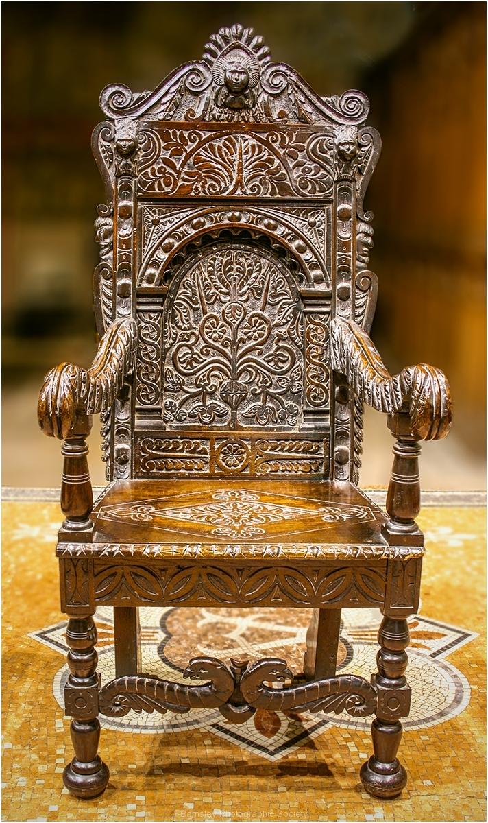 Chair Detail Darfield Church by Bob Harper