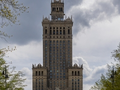 Palace of Culture and Science Warsaw by Dave Rippon