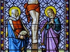 Stain Glass Window Kimpton Church by Jeff Moore