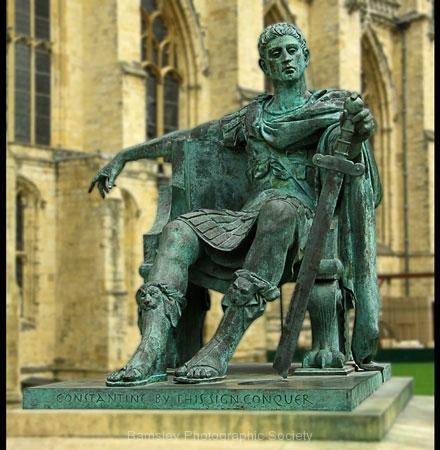 Constantine Statue, York by Tom Allison