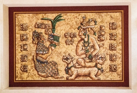 Mayan Plaque by Phil Harris