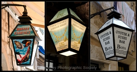 Shop Lanterns, Dubrovnik by Jeff Moore