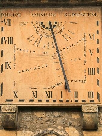 Sundial, Eyam Church by Tom Allison