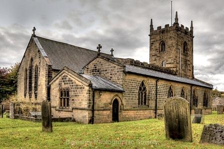 St. Lawence Church, Eyam by Tom Allison