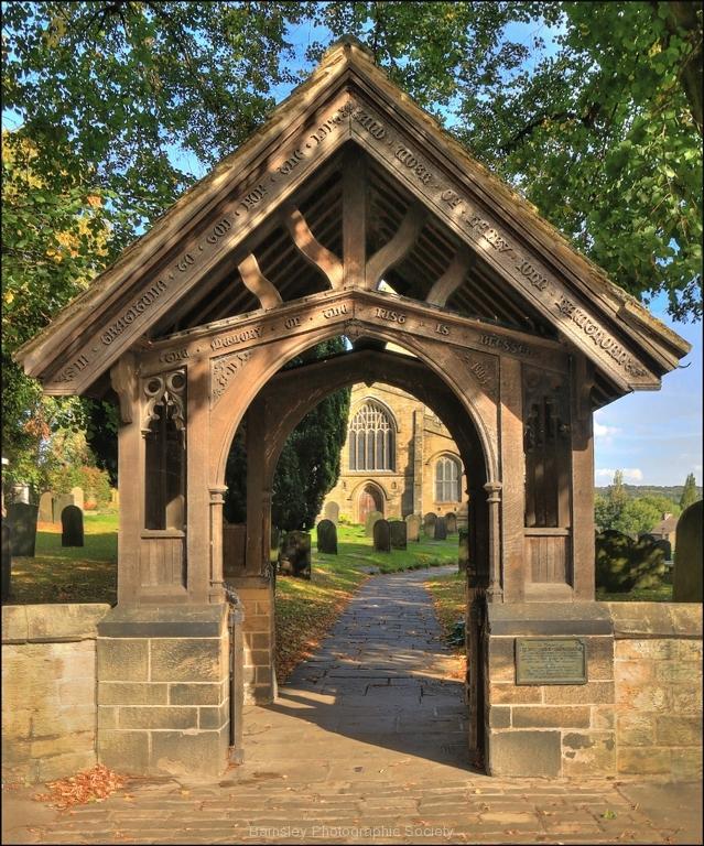 Lych Gate Ecclesfield Church by Tom Allison