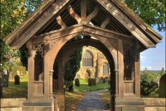 Lych Gate Ecclesfield Church by Tom Allison