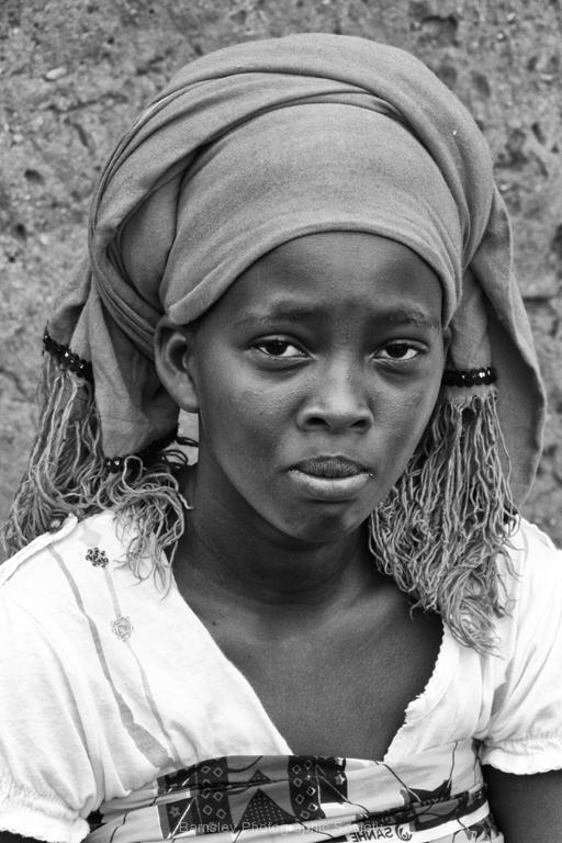 Ugandese Girl by Willem Van Herp