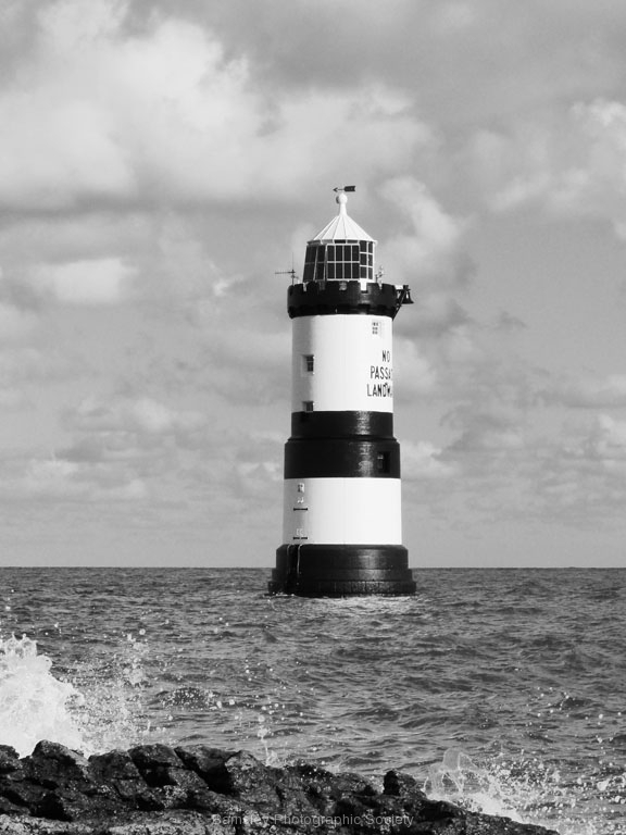 Penmon Lighthouse by Ray Evans