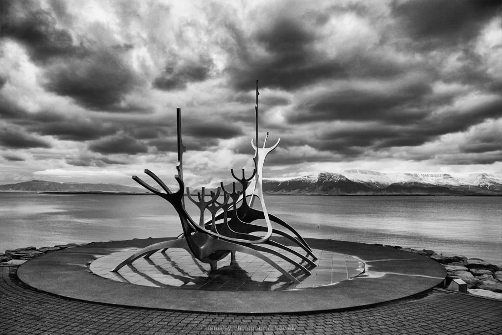 Iceland Longboat by Phil Edwards