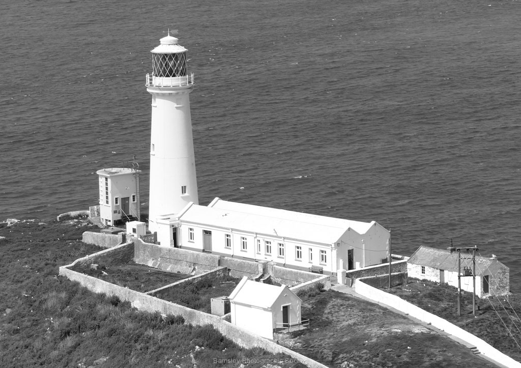 South Stack Lighthouse by Ray Evans