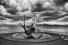 Iceland Longboat by Phil Edwards
