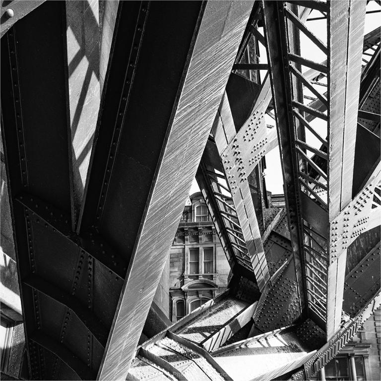 Tyne Bridge Detail by Jeff Moore
