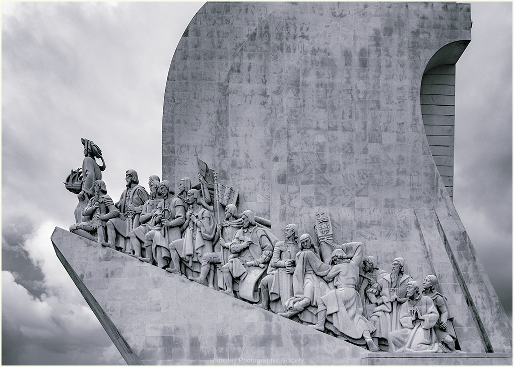 The Monument to Discoveries by Jeff Moore