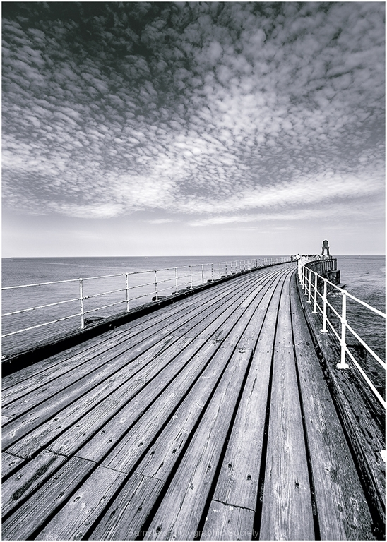 Whitby Pier by Jeff Moore
