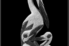 Pelican Sculpture by Bob Harper