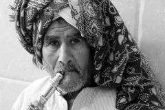 Egyptian Water Pipe Smoker by Willem Van Herp
