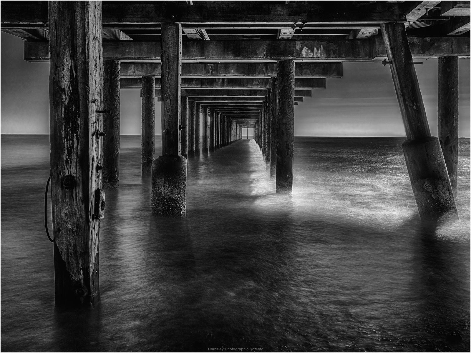 Under Southwold Pier by Jeff Moore