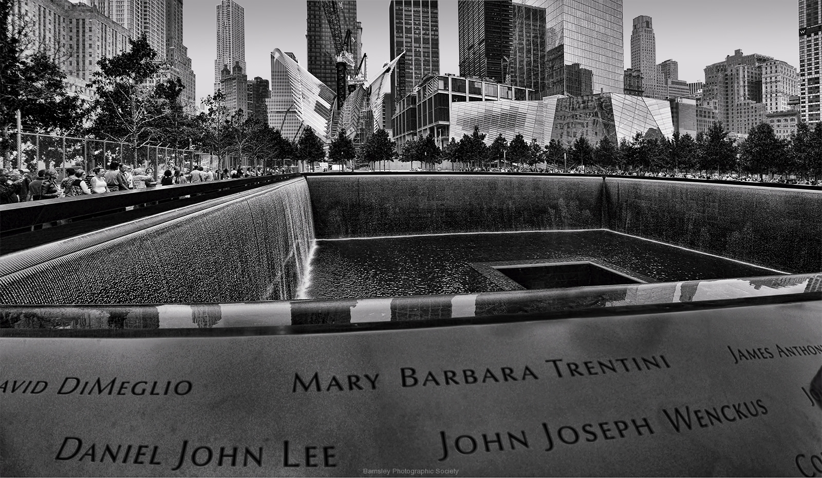Ground Zero Memorial by Dave Rippon