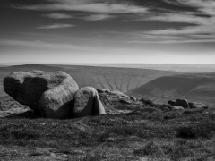 Rounded Rock by Robert Bishop
