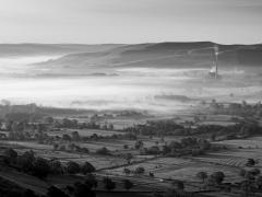Mist In The Valley by Robert Bishop