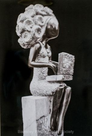 Sculpture Computer Wizard by Bob Harper