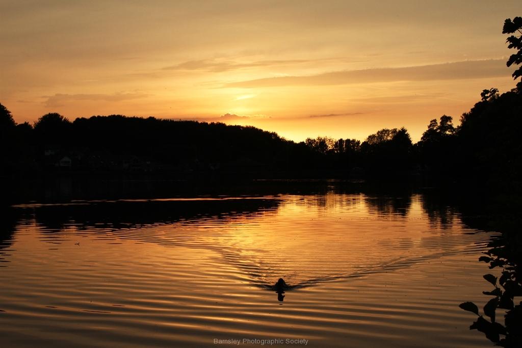 13 NEWMILLERDAM SUNSET by Brian Crossland