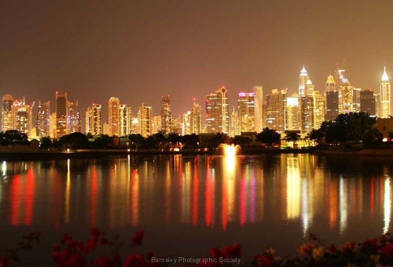 Dubai-evening-skyline