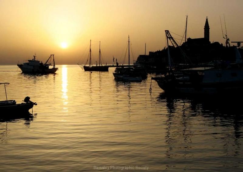 3-Sunset-over-Rovinj-Harbou
