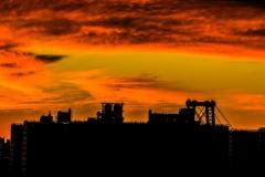 13 BURNING SUNRISE OVER BROOKLY by Glynn Rhodes