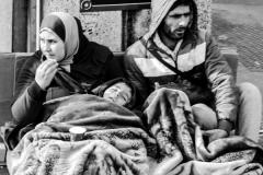 Refugee crisis escalates in Paris by Glynn Rhodes