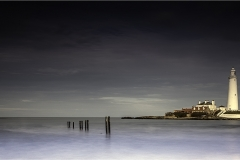19 ST MARYS LIGHTHOUSE by Jeff Moore
